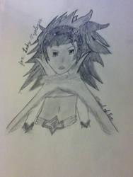 art for Lady Vyolence by VesselofEve