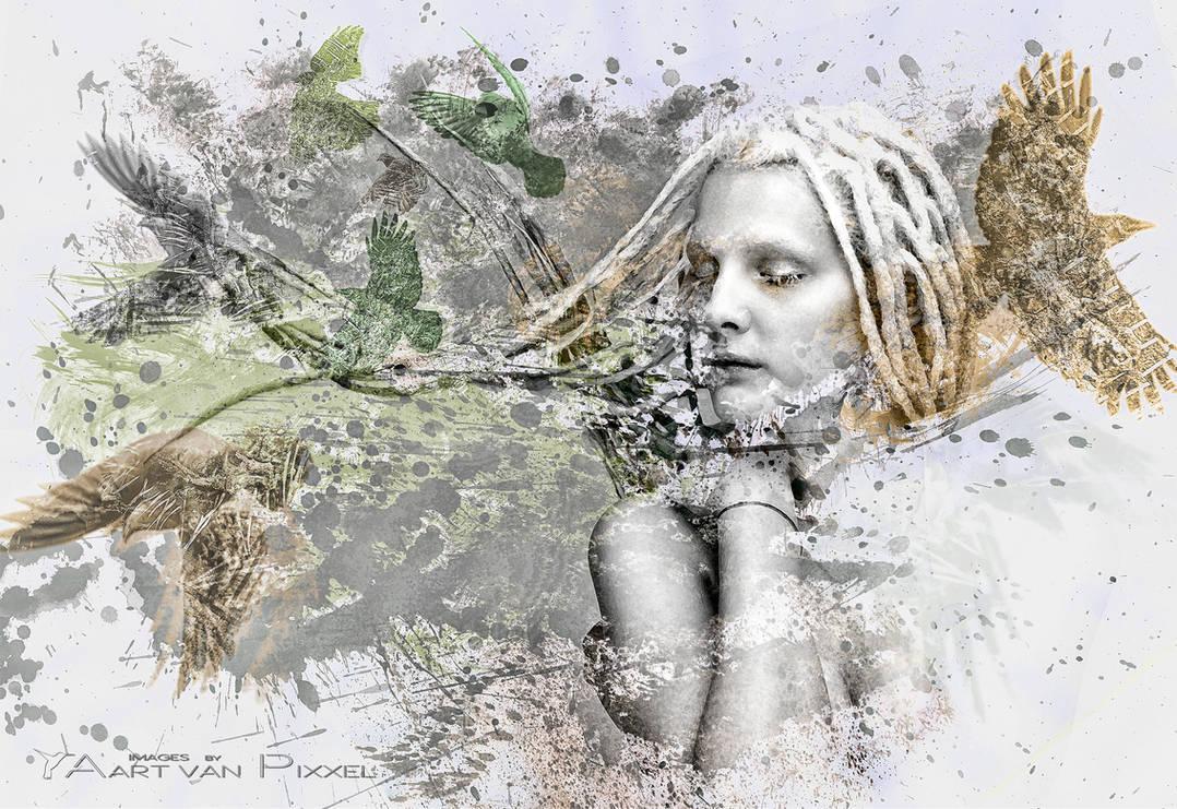Free Your Mind by Aart-van-Pixxel