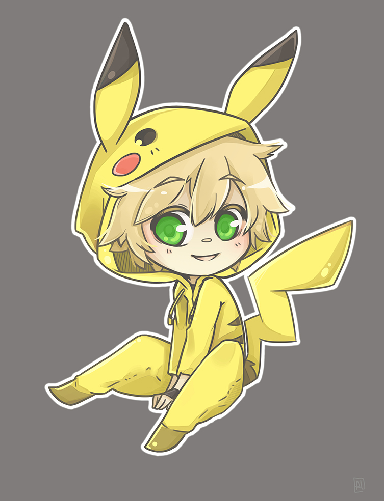 Pikachu by Alathriel