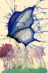 Flutter by Butterfly by crazy4zuko
