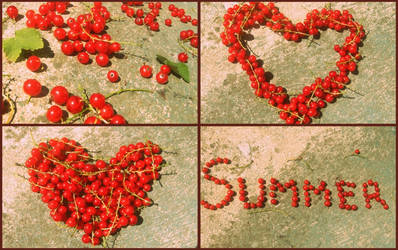 redcurrants for summertime by BrownieSue
