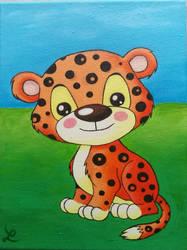 Little Tiger by Leuseni