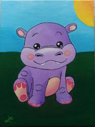 Little Hippo by Leuseni