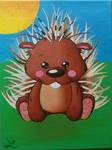 Little Porcupine by Leuseni