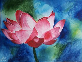 Lotus flower by Leuseni