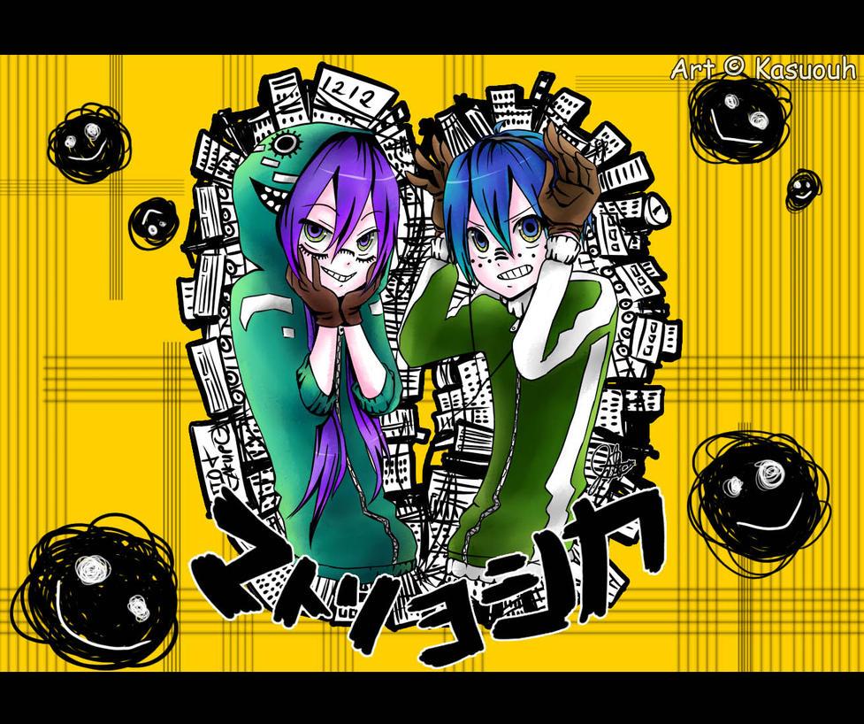 MATRYOSHKA: Gakupo and Kaito by kasuouhhitachiin