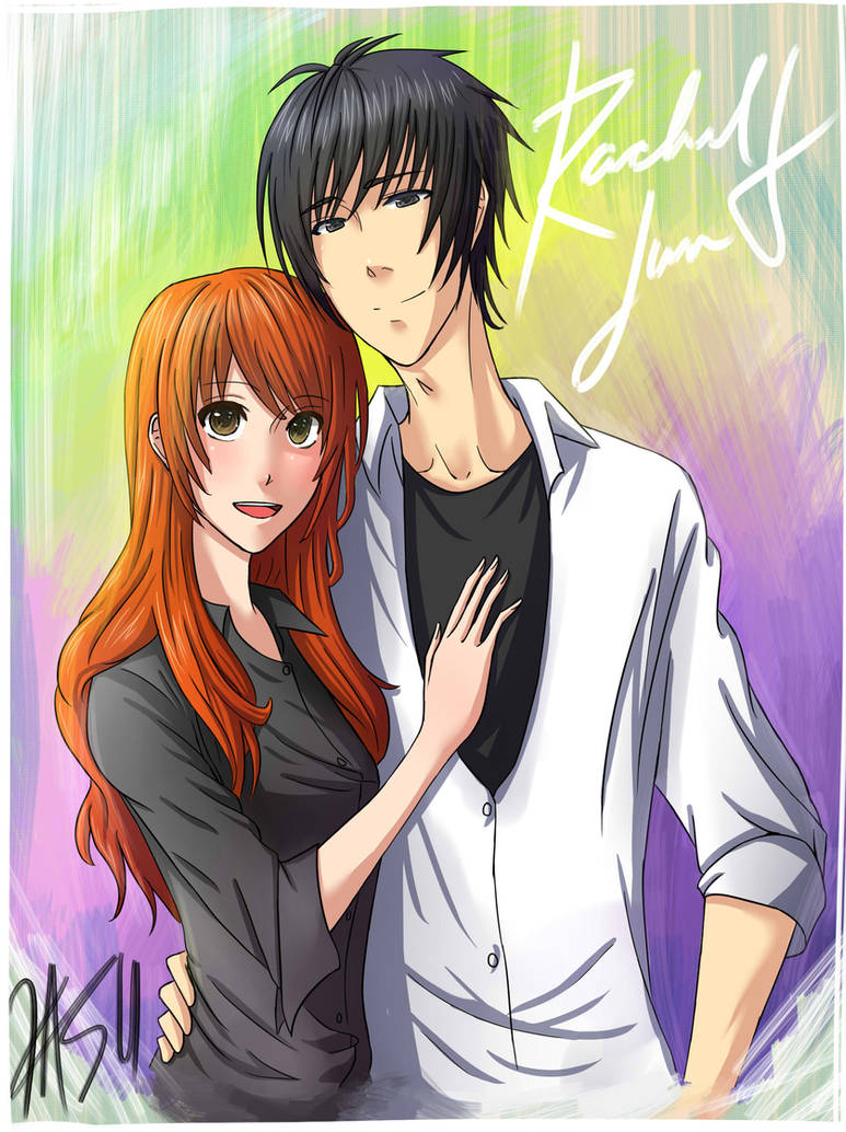 Rachel and Jun Fanart by kasuouhhitachiin