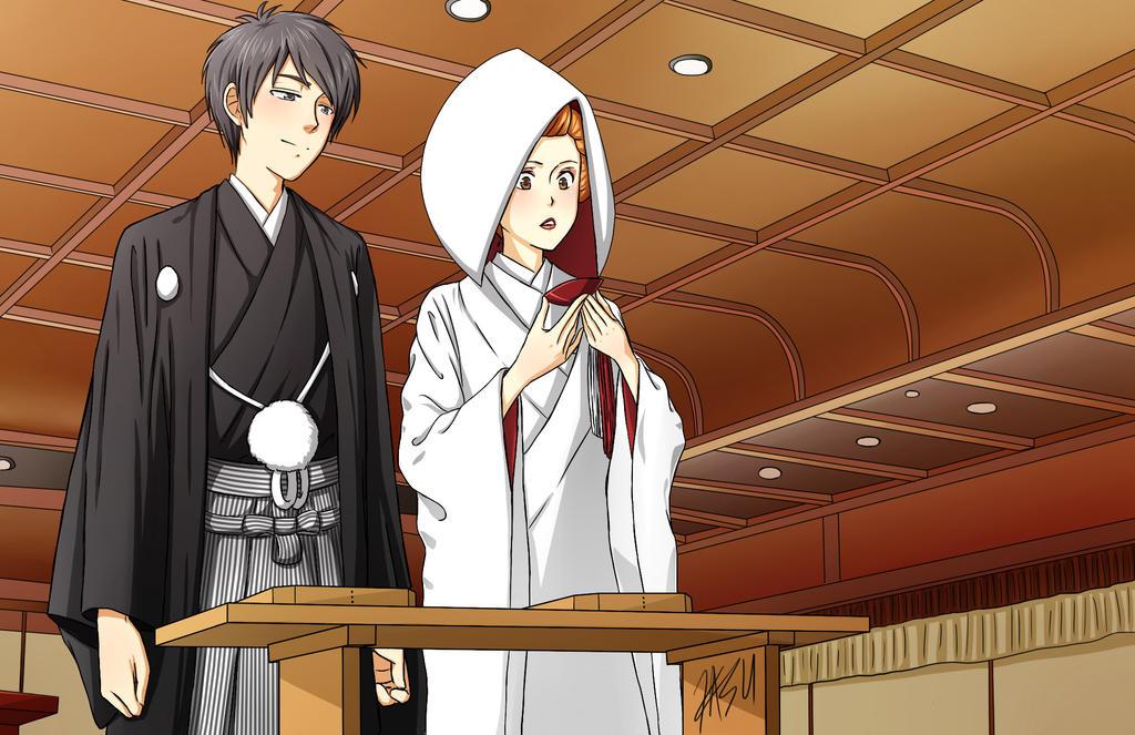 Rachel And Jun Jap Style Wedding by kasuouhhitachiin