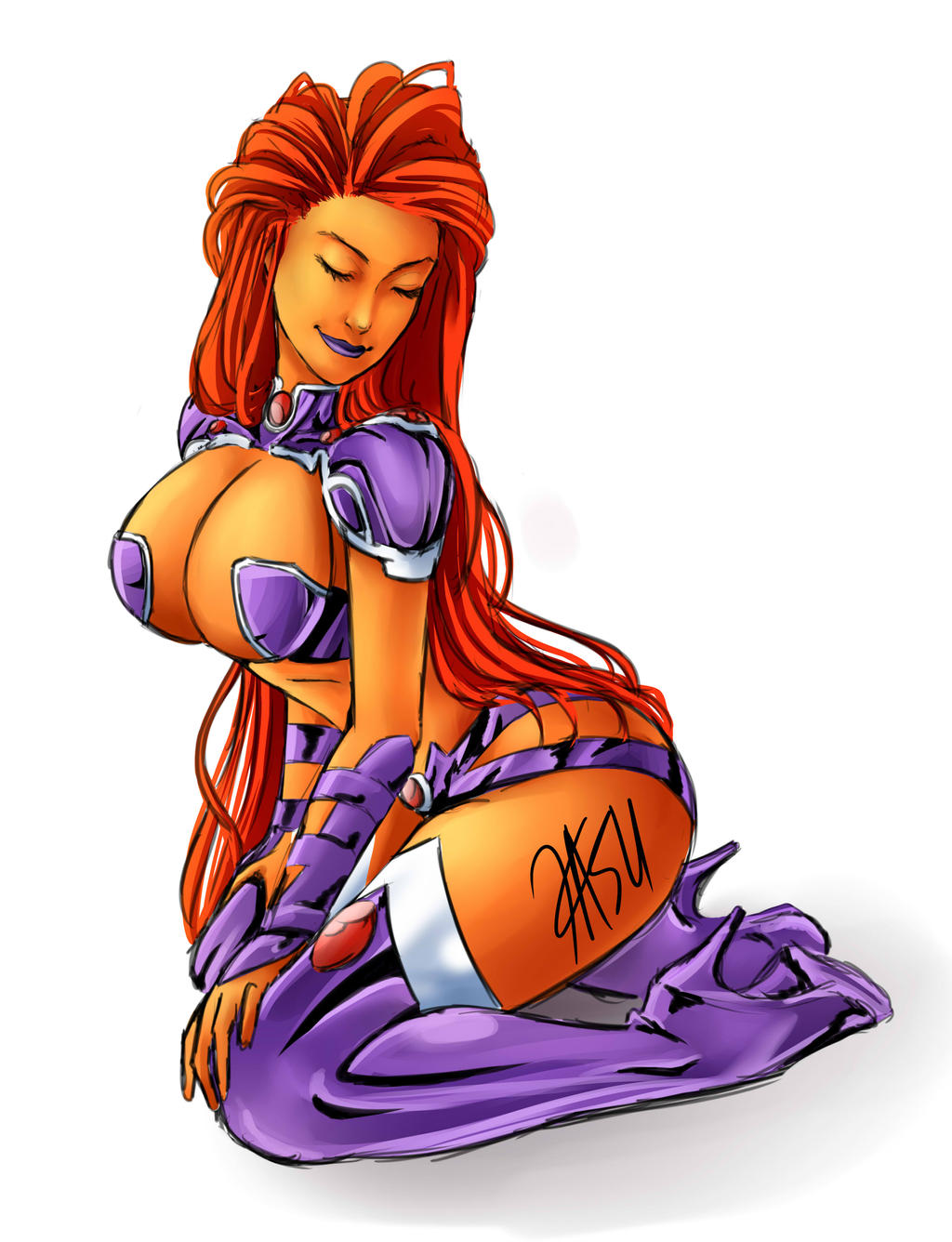 Starfire by kasuouhhitachiin
