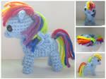 Crochet Rainbow Dash