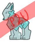 P2U Base: Crystal Llama Dog