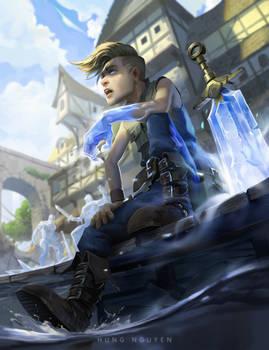 Ice sword boy!