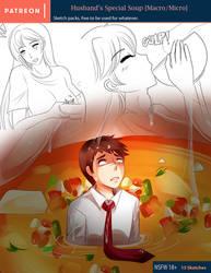 Husband Special Soup [Vore]