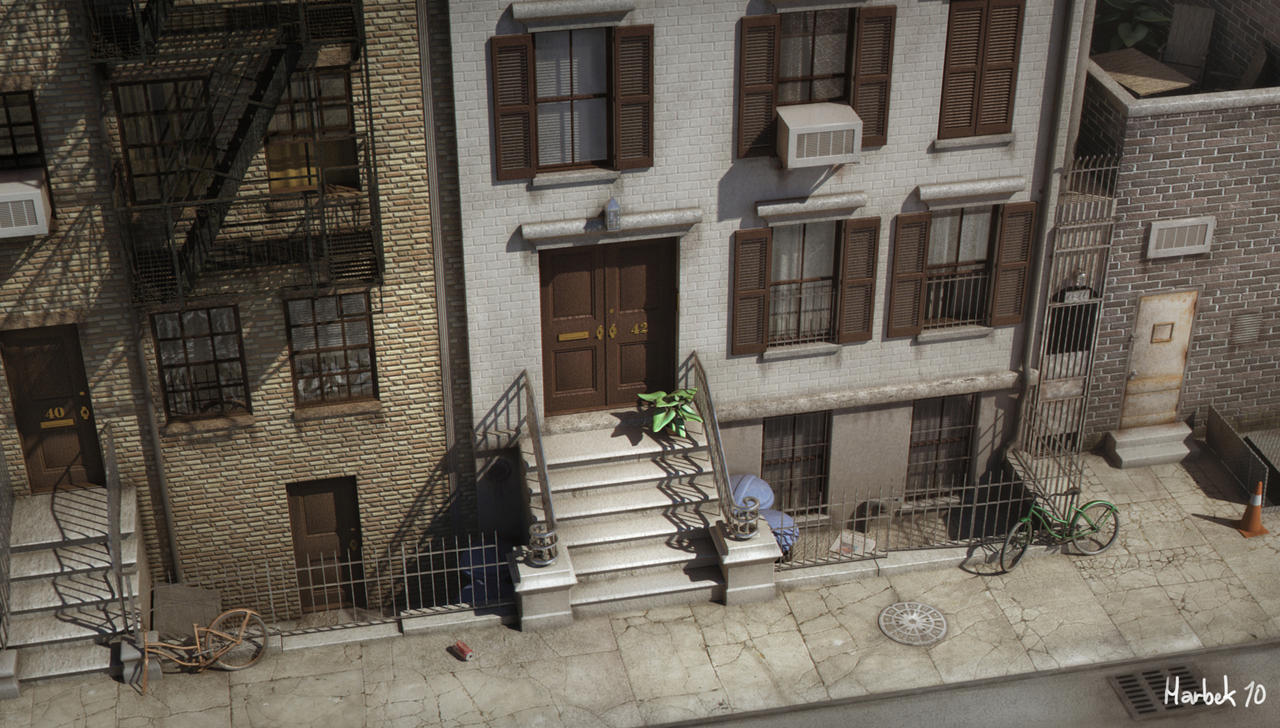 3D Street - realism by harbek