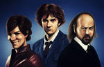 2011 Black Books vs Doctor Who
