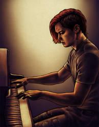 2011 Punk pianist by harbek