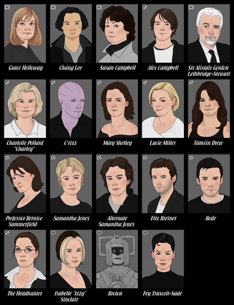 Divergent Fan Art Deviantart 12 Eighth Doctor chara...