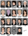12 Eighth Doctor characters