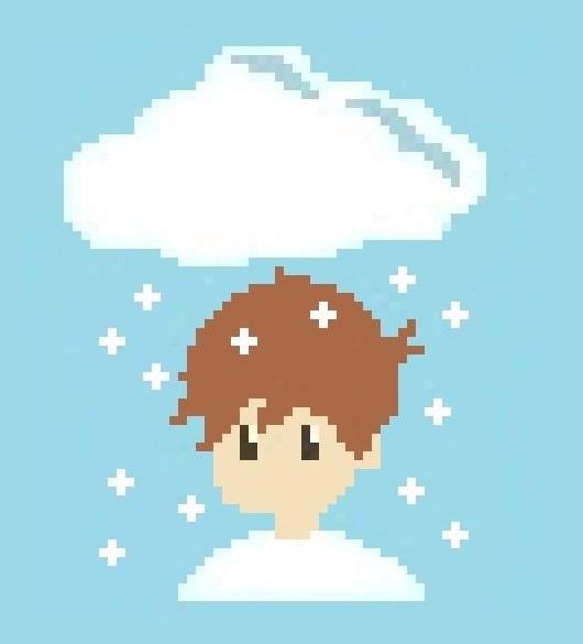 Pixel Cloud by nitrokitty123