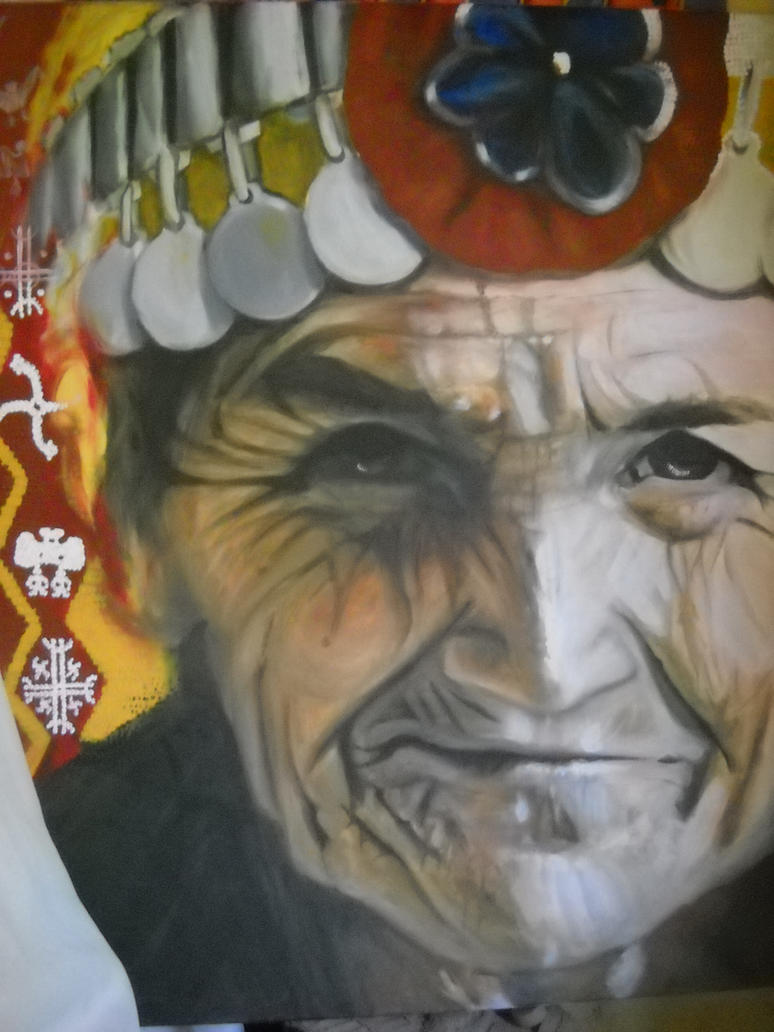 Mapuche by ElQuejon
