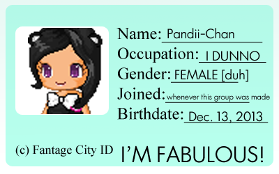 My fantage-fever-city group ID by ixRika