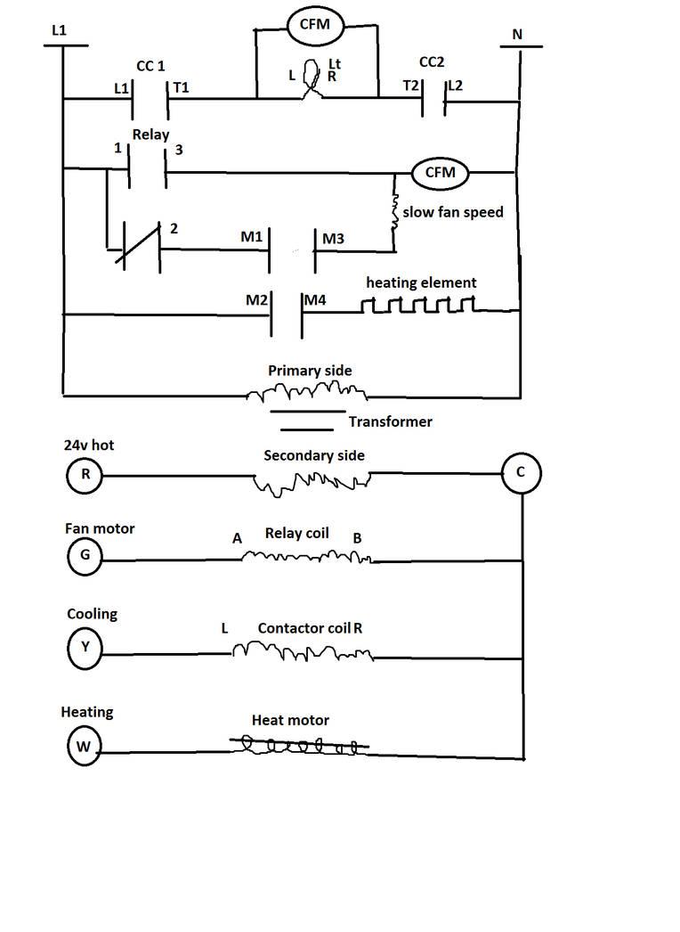 Thermostat wiring diagram by PonyEnterprisesII on DeviantArt on