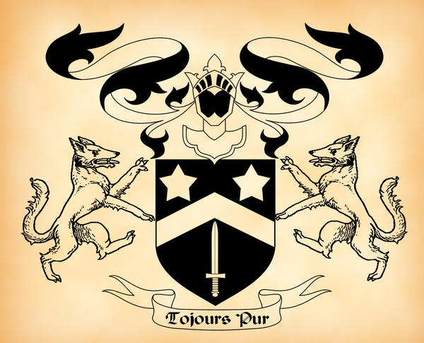 Black Family Coat of Arms by verreaux on DeviantArt