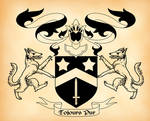 Black Family Coat of Arms
