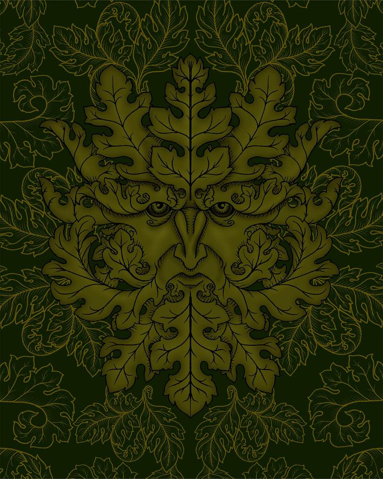 Greenman design by verreaux