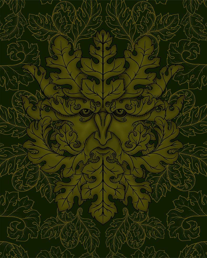 Greenman design by verreaux