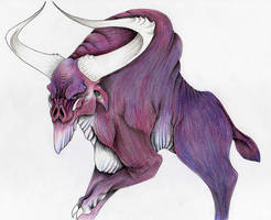 Graphorn by verreaux