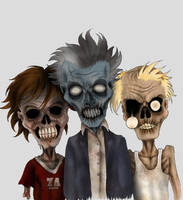 Zombies by verreaux
