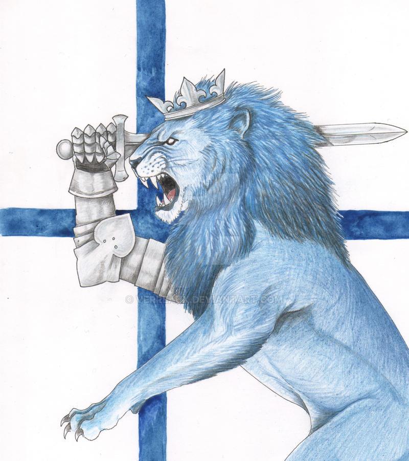 Finland Lion by verreaux