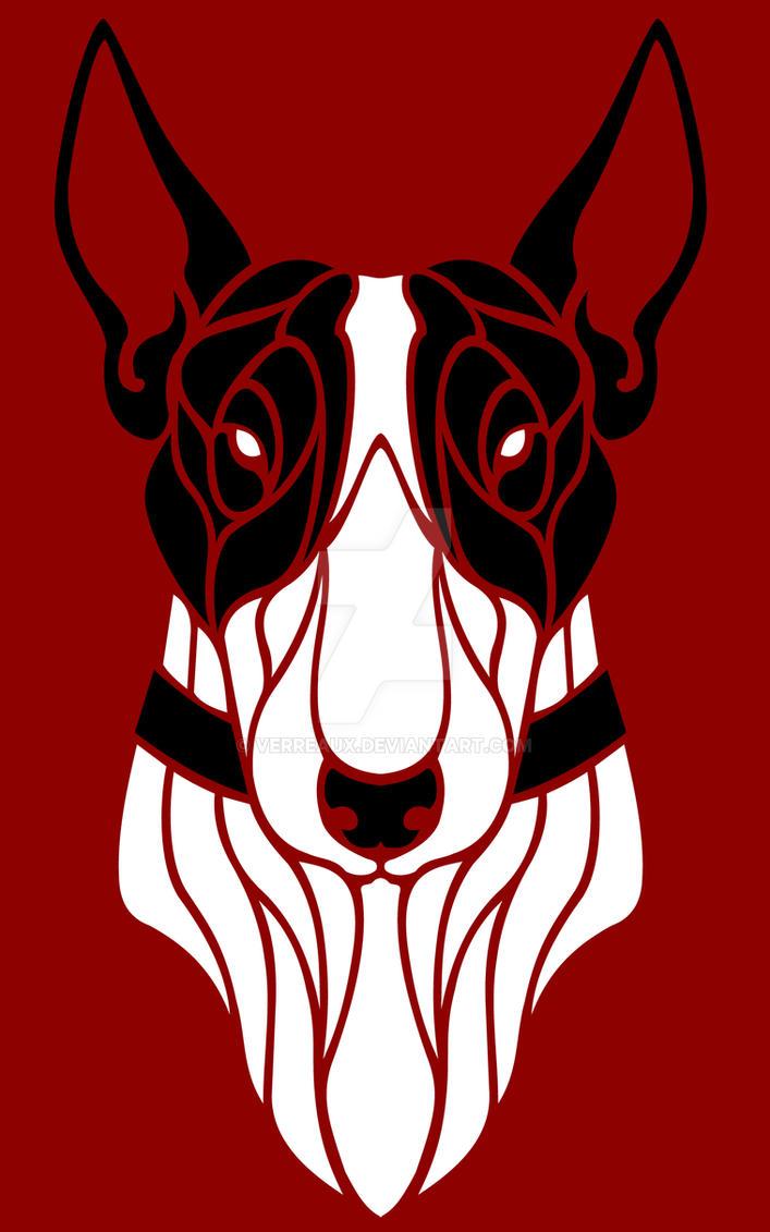 Bull Terrier by verreaux
