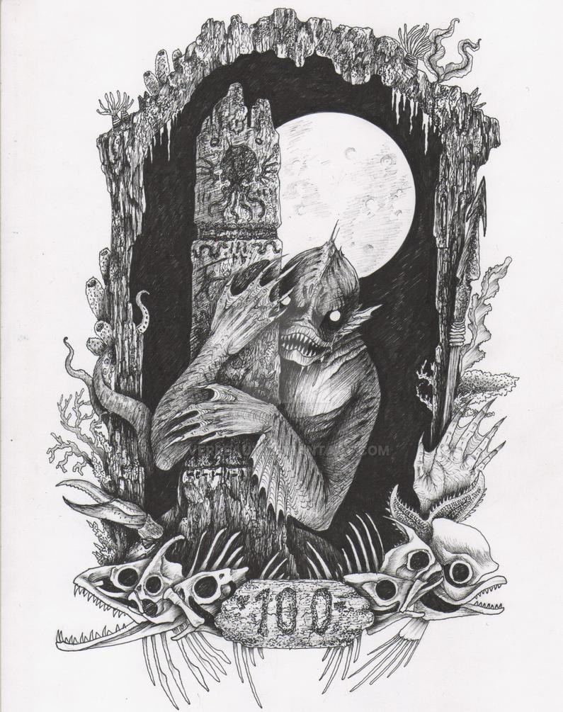100 Years of Dagon by verreaux