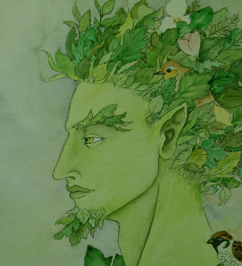 Greenman by verreaux