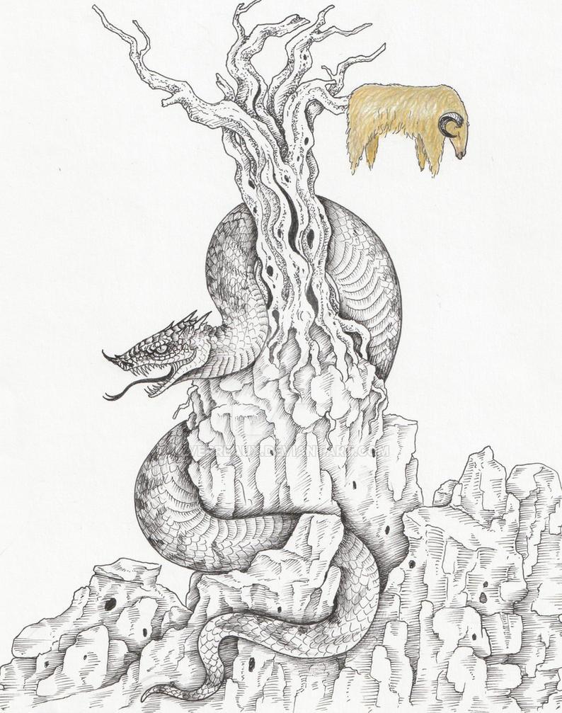 The Golden Fleece by verreaux