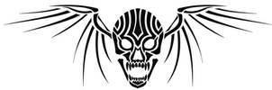 Winged Skull by verreaux