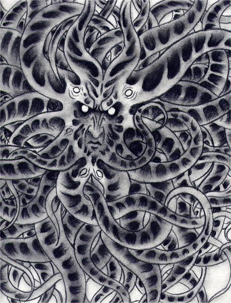 The Dunwich Horror by verreaux