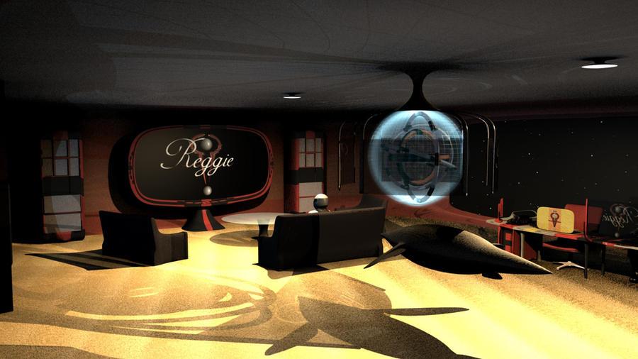 Futuristic office by Ryill on DeviantArt