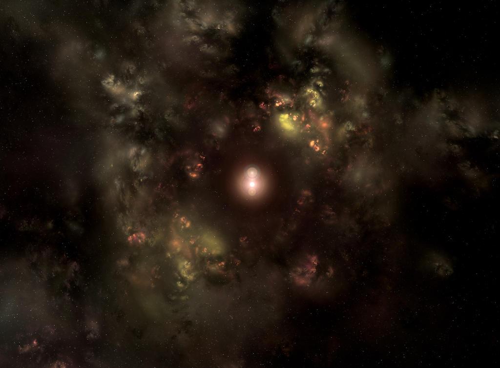 Blood Nebula by Megahalo