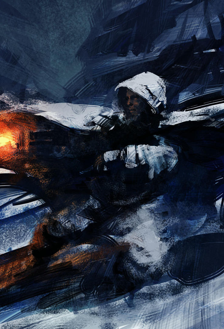 Snow Soldier by steve-burg