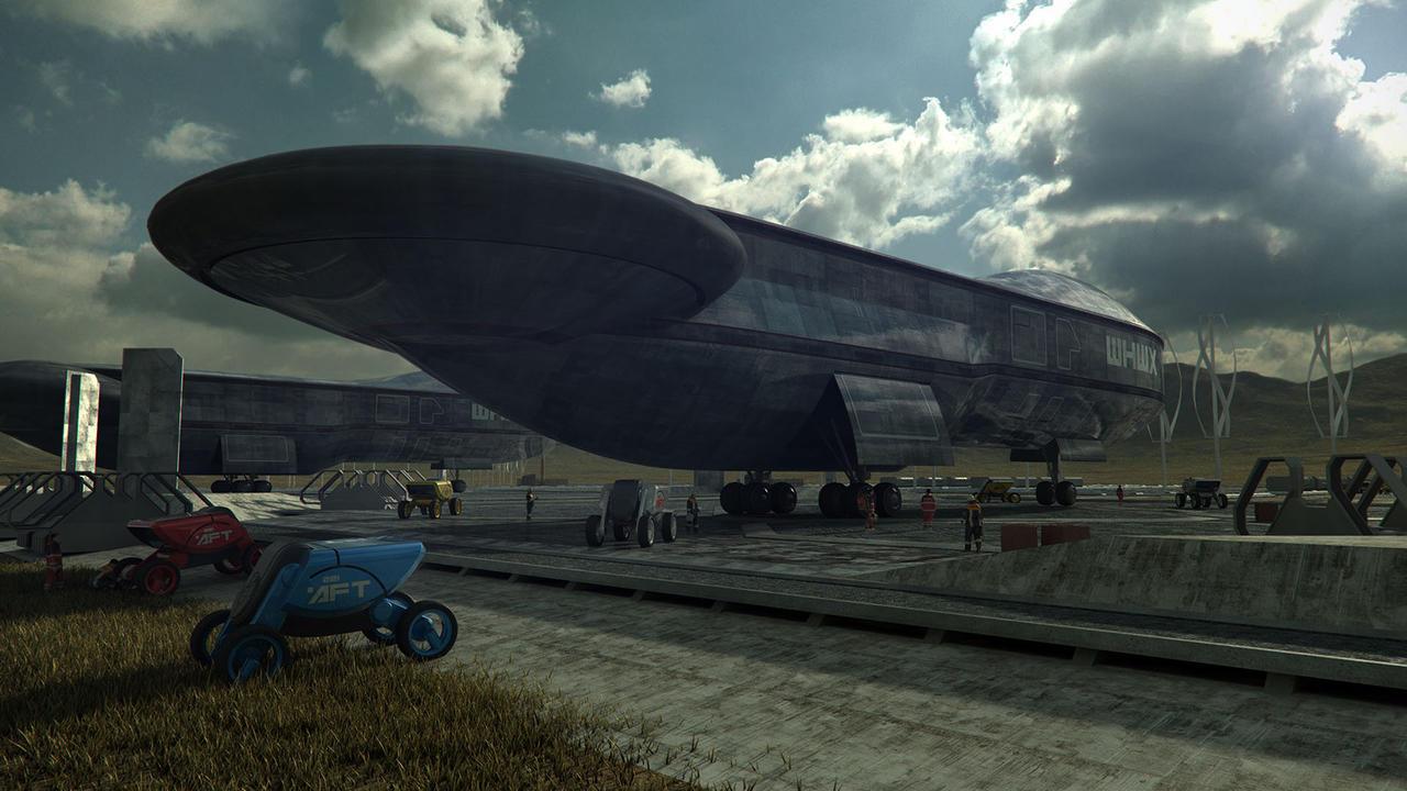 Colony Landing Pad by steve-burg