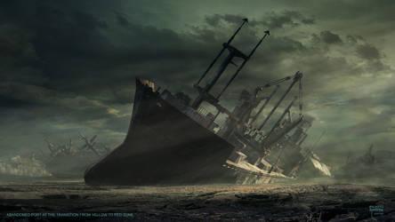 The Dead Harbor by steve-burg