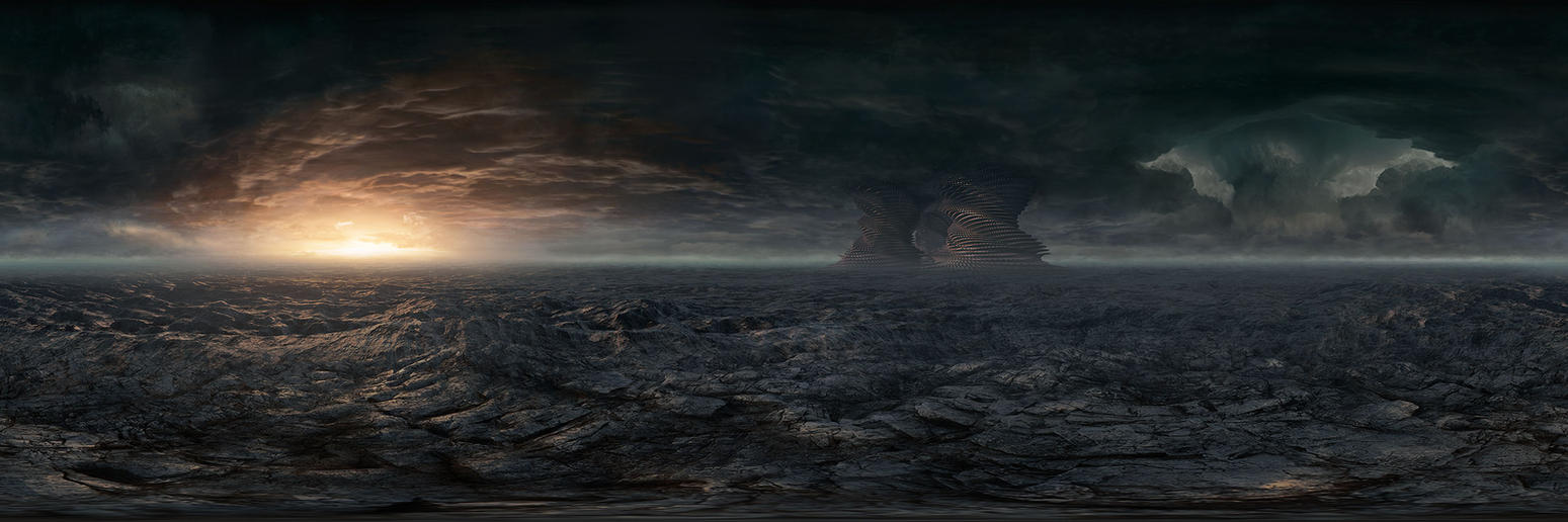 Sky matte painting 01 by steve burg on deviantart for Space matte painting