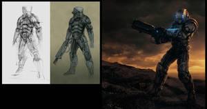Armor Concept: Process by steve-burg