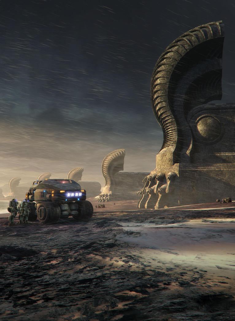 Sphinx by steve-burg