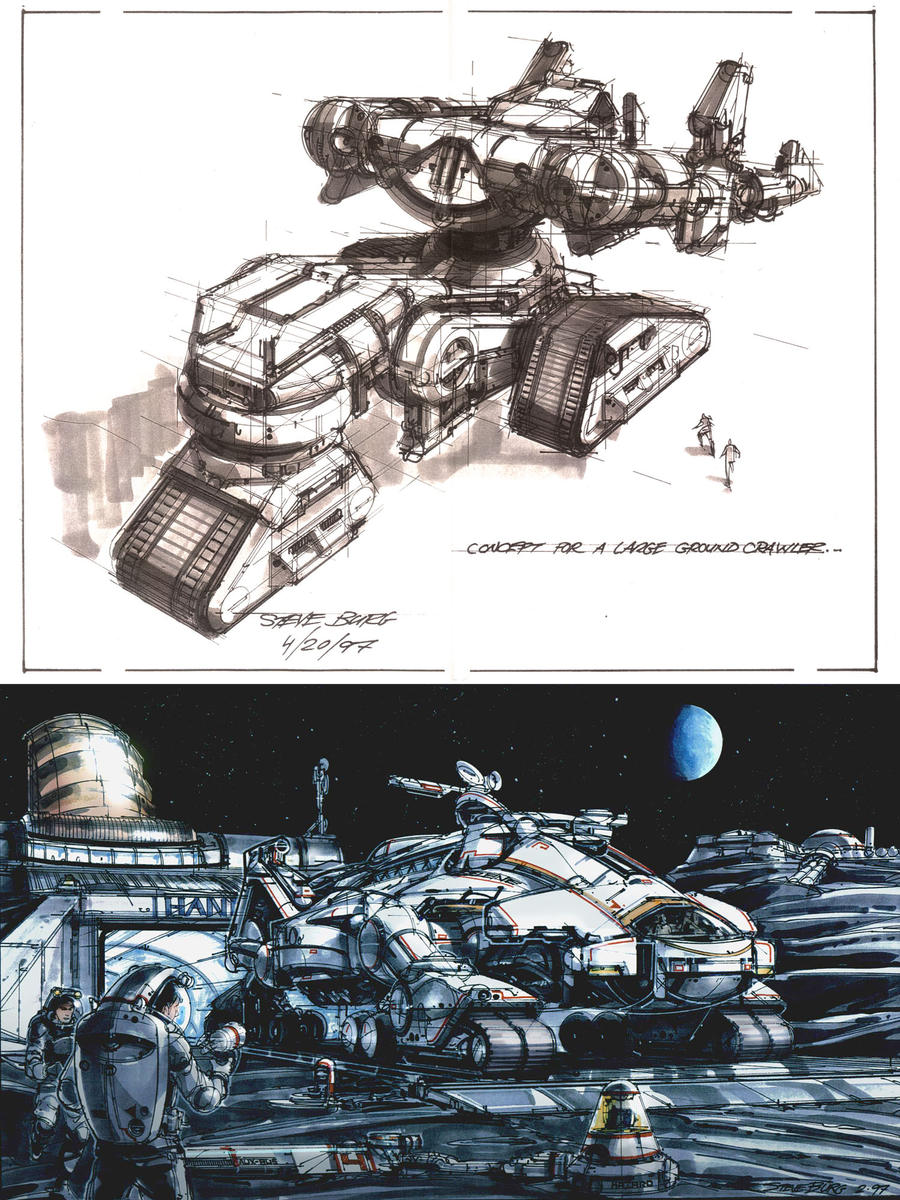 Marker Sketches by steve-burg