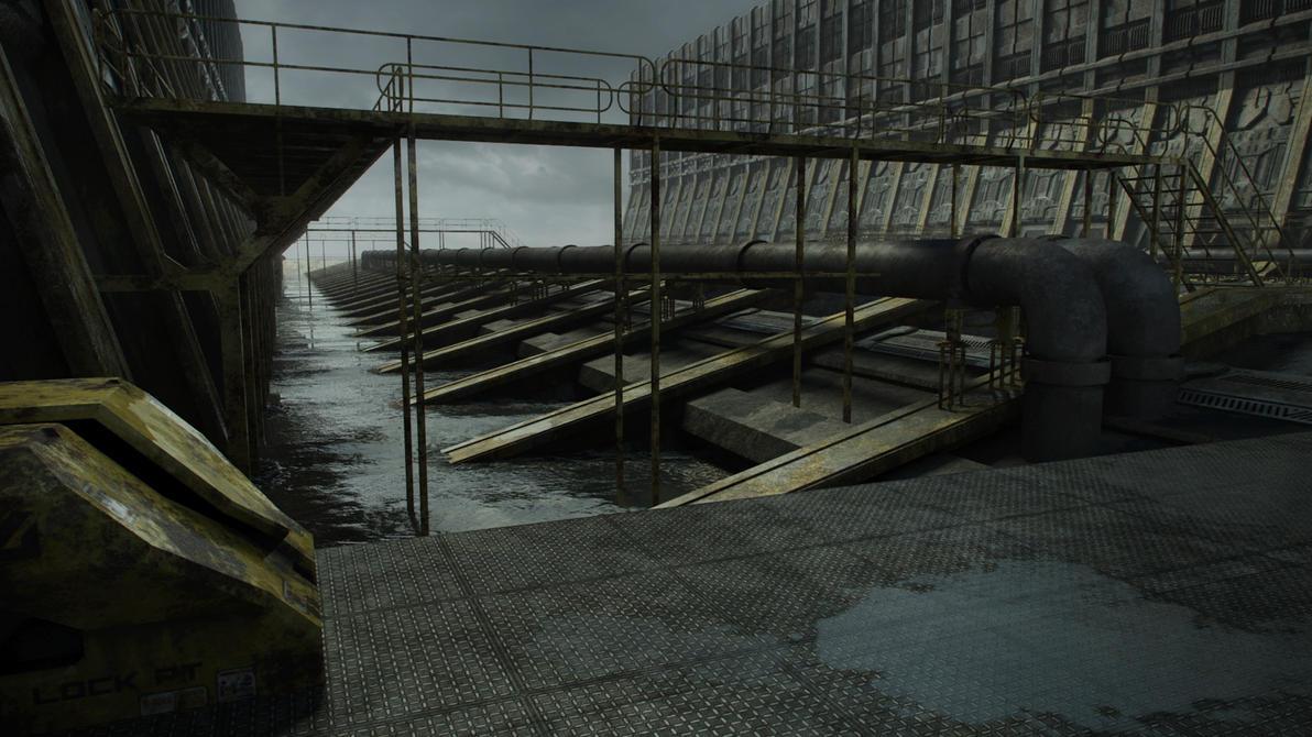 3D Environment W.I.P. 05 by steve-burg