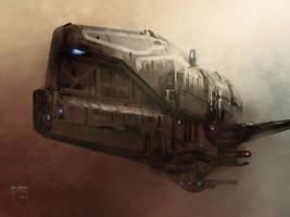 Whale Ship by steve-burg